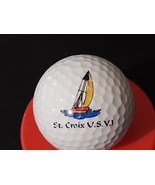 Advertising Logo Golf Ball Collectible St. Croix US Virgin Islands - £9.89 GBP
