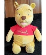 """Disney Winnie the Pooh Jumbo 27"""" Plush Celebrating 80 Years Fisher Price  - $33.85"""