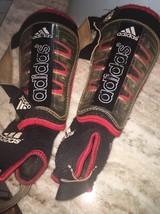 Red Adidas Junior Soccer Shin Pads - $11.88