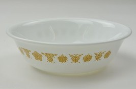 Corning Corelle Butterfly Gold Pattern Coupe Cereal Bowl Vintage White G... - $5.49