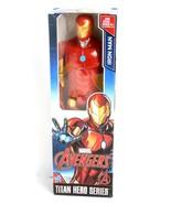 New Marvel Avengers Titan Hero Series 12-inch Iron Man Figure Toy - $13.32