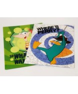 New, Disney's Phineas & Ferb 2-Pocket Portfolio Folder, Lot of 2 - $12.88