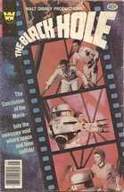 (CB-10) 1980 Whitman Comic Book: The Black Hole #2 { Photo cover } - $8.00