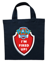Paw Patrol Marshall Trick or Treat Bag, Custom Paw Patrol Marshall Halloween Bag image 2