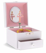 JewelKeeper Personalize-Your-Own White Musical Ballerina Jewelry Box wit... - €19,82 EUR