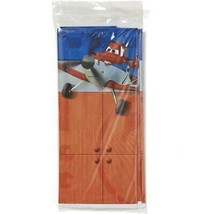 Planes Dusty and Friends Plastic Table Cover 1 Count Birthday Party Supp... - $5.89