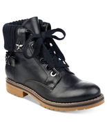 Tommy Hilfiger Lace-Up Combat Booties - $89.00