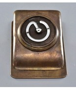 Rare 1913 Veiled Prophet Ball VP Brass Bronze Thermometer Paper Clip Hol... - $195.00
