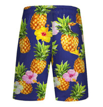 Men's APTRO Swim Trunks Summer Pineapple Beachwear Long Board Shorts - 4XL image 2