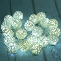 (10 LED white)10 LED Battery Operated Heart Shaped Christmas String Ligh... - $20.00