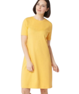 Isaac Mizrahi Live! Essentials Large Short-Sleeve T-Shirt Dress Meyer Le... - $21.00