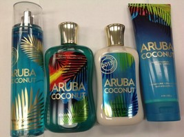 Bath and Body Works Aruba Coconut Set - Mist/Lotion/Gel/Cream - $250.00
