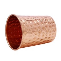 Traditional Hammered Copper Glass Tumbler Tableware Drinkware Glassware05 - $17.75