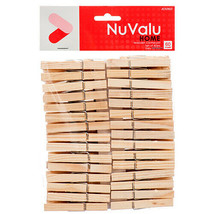 60 CT Clothes Pins Natural Wood Wash Clips Hook Metal Spring Durable  - €6,10 EUR