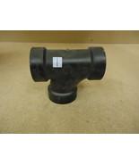 Standard Sanitary Tee Black 2in x 2in x 2in HxHxH Plumbing ABS - $5.80