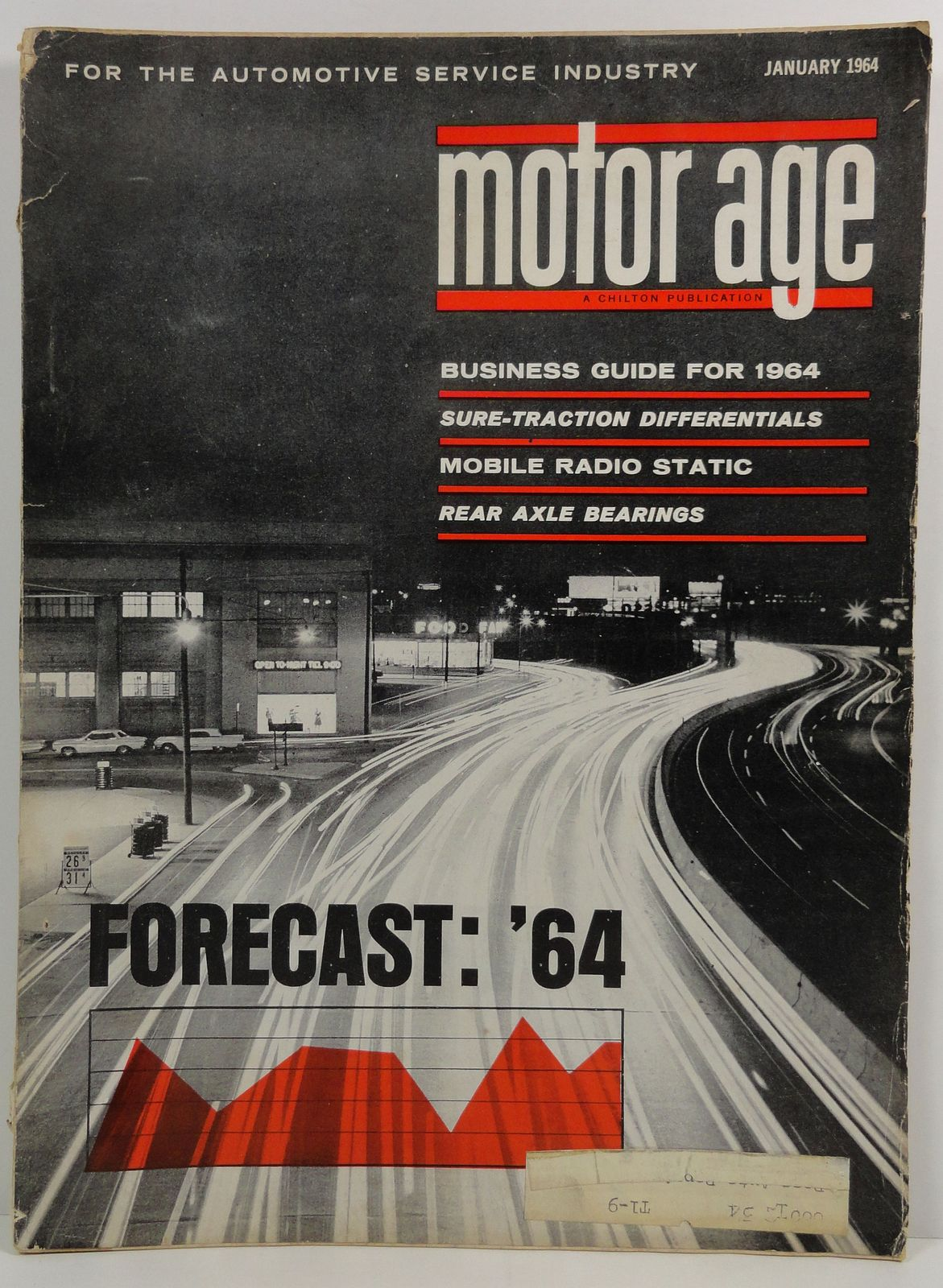 Motor Age January 1964 A Chilton Publication Forecast 1964 Guide
