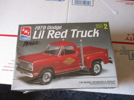 AMT 1978 Dodge Lil Red Truck 1/25 scale - $89.99