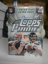 2014 Topps Prime Factory Sealed Unopened Retail Football Box  - $48.97