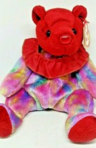 Ty Beanie Baby COLORFUL JULY BEAR - $9.49