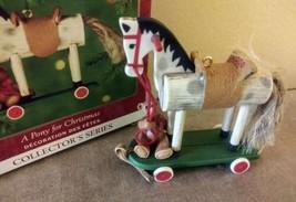 Hallmark 2000 A Pony For Christmas Keepsake Ornament  NIB - $9.46