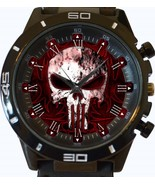 Gothic Punisher Skull New Gt Series Sports Unisex Gift Watch - £27.00 GBP