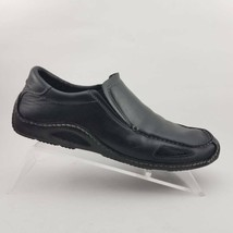Cole Haan Mens Driving Moccasins Shoes Black Leather Slip-On 9.5 M - $31.99