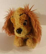 Lady and The Tramp Plush 13in Stuffed Animal Disney Parks Dog Puppy - $9.99