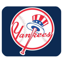 Mouse Pads New York Yankees Sports Logo American Baseball Team Game Mousepads - $6.00