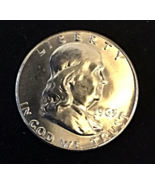 1963 P Franklin Silver Half Dollar, Mint, Proof Condition, circulated, B... - $45.00