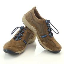 Dansko Brown Suede Mesh Fashion Sneakers Walking Shoes Womens EUR 36 US 5.5 to 6 - $49.37