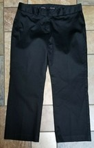 Woman's Express Editor Black Dress Pants Size 6 X 24 - $12.86
