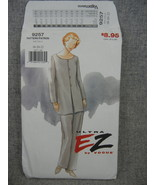 Front button Tunic and Pants Vogue 9257 Misses 18 20 22 Ultra EZ   UC FF - $10.00
