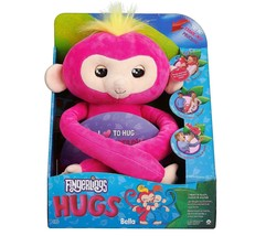 WowWee Authentic Fingerlings Baby Monkey Bella HUGS Softies VHTF Ready 2... - $34.64