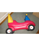 Little Tikes Push and Ride On Racer Toddler Riding Car Toy Red - $24.75