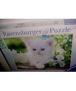Ravensburger 2013 White Kitten 1500 Piece Premium Puzzle Item No. 162437... - $74.25