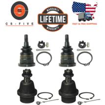 LIFETIME Ball Joint Kit set of 4 - Cadillac Chevrolet GMC K1500 4x4 1999... - $73.85