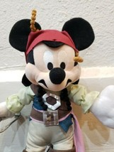 "Disney Parks Mickey Mouse Jack Sparrow Pirates of the Caribbean 11"" Plush - $12.59"