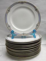 "Set Twelve (12) CHARLES AHRENFELDT LIMOGES Porcelain China - 10"" DINNER ... - $350.00"