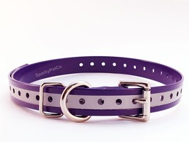 3/4 Reflective Strap For E Collar Garmin SportDOG PetSafe Reflective Purple - $15.99