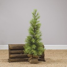Set of 2 Slim Long Needle Pine Trees 3 Ft Christmas tree rustic  - $140.00