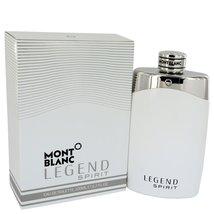 Mont Blanc Montblanc Legend Spirit Cologne 6.7 Oz Eau De Toilette Spray image 2