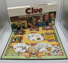 Clue Parker Brothers Classic Detective Board Game #0045 1986 Edition Complete - $27.99