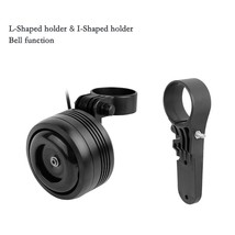 125db USB Rechargeable Bicycle Electric Bell Bicycle Scooter Horn Remote... - $111.66