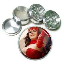 Cosplay Pin Up Girls D8 63mm Aluminum Kitchen Grinder 4 Piece Herbs & Spices - $13.81
