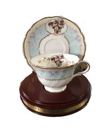 1998 MRS. P.F.E. ALBEE COMMEMORATIVE TEACUP & SAUCER HONOR SOCIETY BY AVON - $29.84