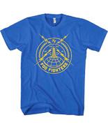 Foo Fighters-Pure Rock Logo-Medium Royal Blue  T-shirt - $16.44