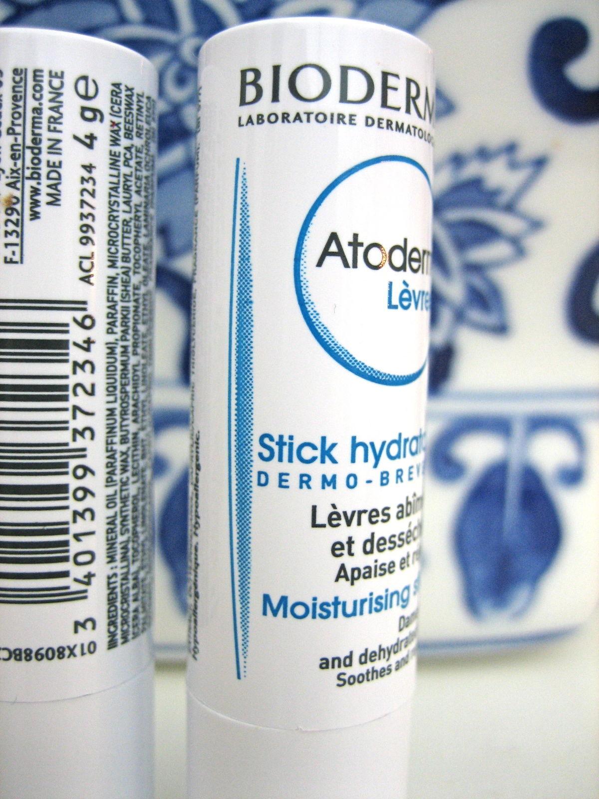 2 Bioderma Atoderm Moisturizing Lip Stick Balm from France