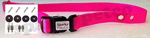 "Sparky PetCo PetSafe Compatible 3/4"" Replacement Collar Strap Combo Accessory Re"