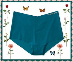 XL  Dark Teal Green Blue NO SHOW Victorias Secret  Midi High Waist Brief... - $10.99