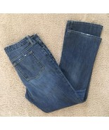 Eddie Bauer Jeans Womens Truly Straight BootCut Archive Wash Denim Pants... - $17.56